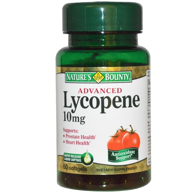 Lycopene - chất chống oxy hóa rất hiệu quả.