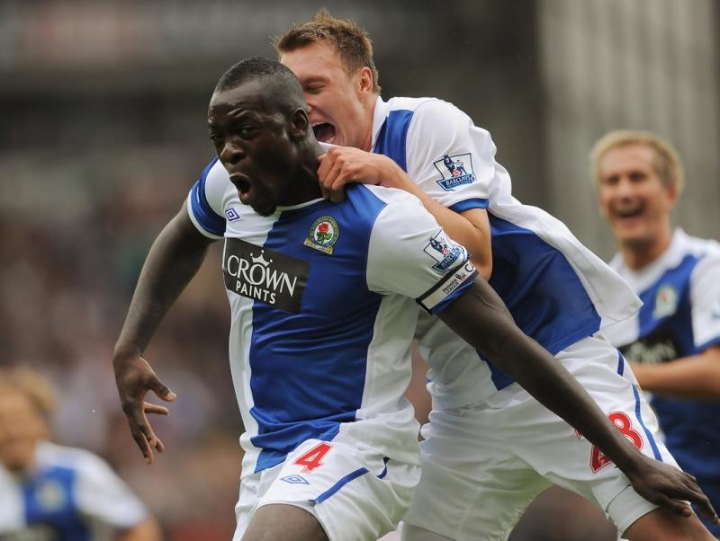 Samba từng mang băng đội trưởng ở Blackburn Rover