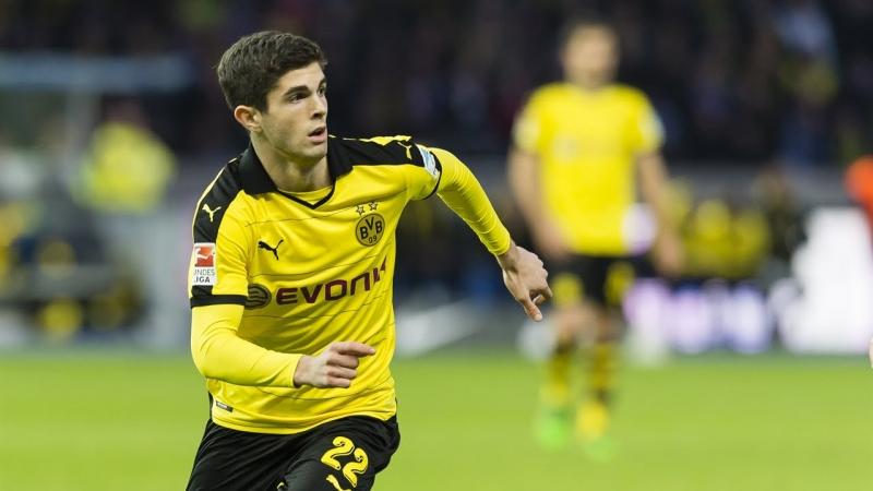Tài năng trẻ người Mỹ đang thi đấu rất hay ở Dortmund
