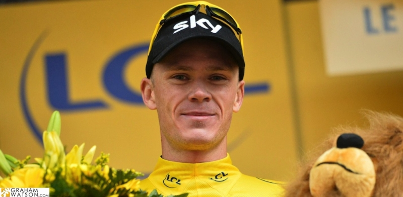 Christopher Froome 3 lần chiến thắng tại giải Tour de France