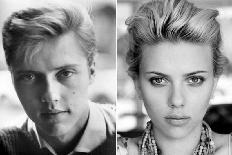 Christopher Walken và Scarlett Johansson