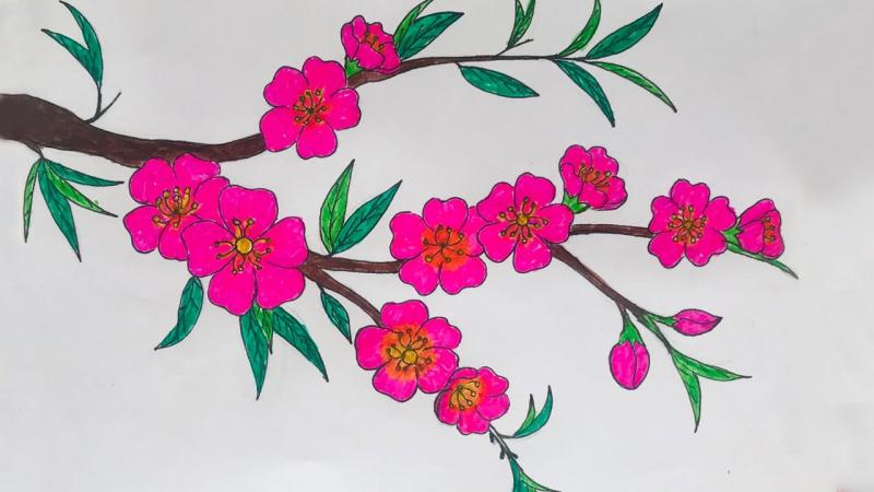 Chủ đề hoa đào
