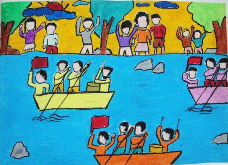 Lễ hội đua thuyền ngày Tết
