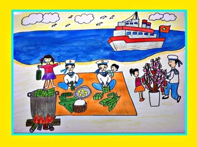 Chủ đề Xuân biên giới hải đảo