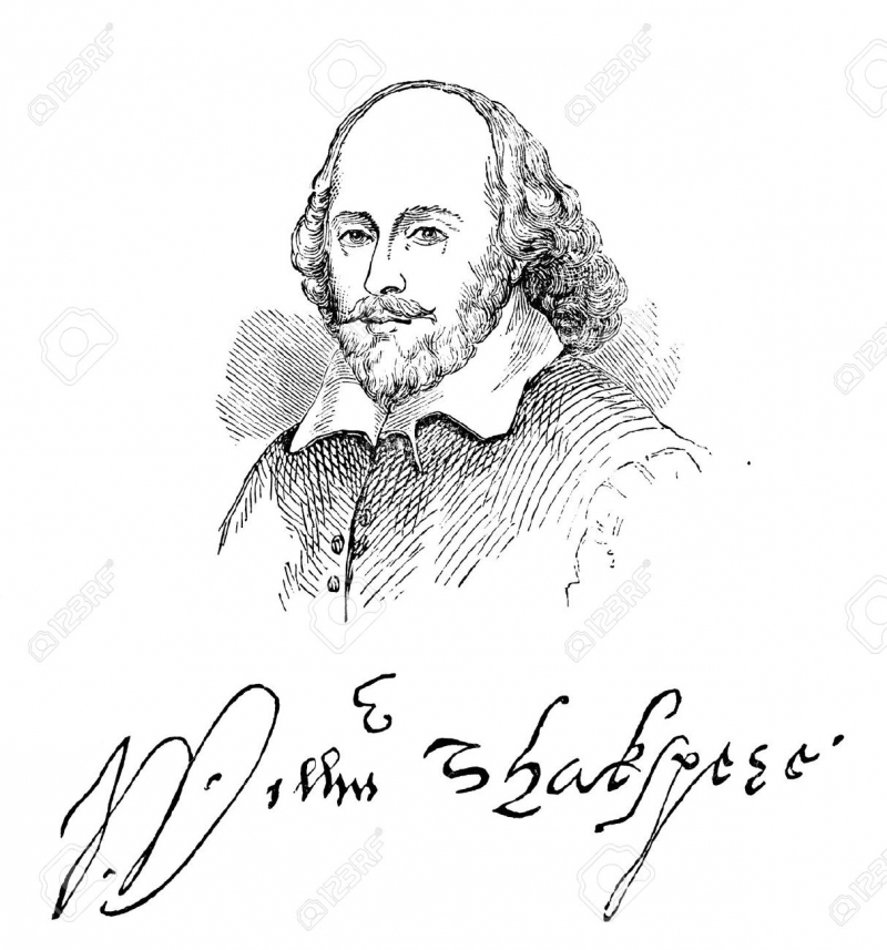 Chữ kí của William Shakespeare