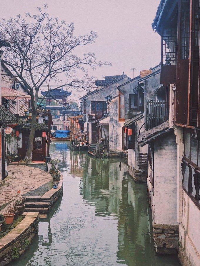 Thị trấn Chu Trang, Trung Quốc