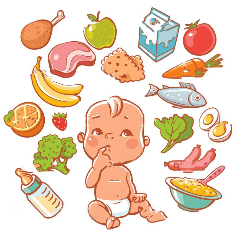 Bổ sung đủ rau xanh, trái cây, vitamin cho con