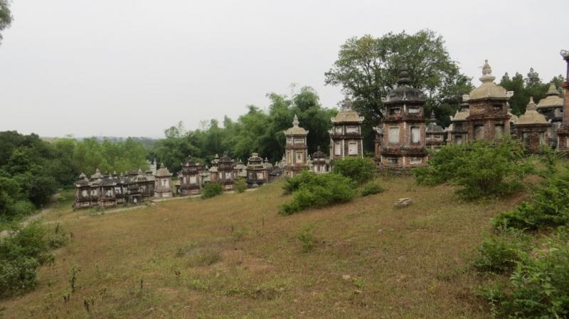 Vườn Tháp - nét kiến trúc độc đáo của Chùa Bổ Đà