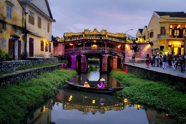 Chùa Cầu ở Hội An của Việt Nam