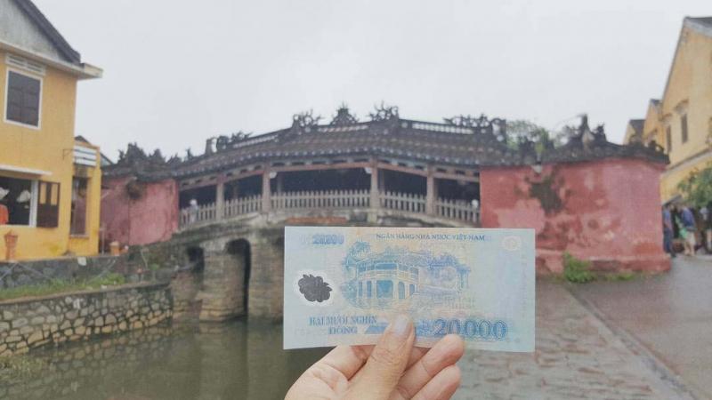 Chùa Cầu, Hội An (tờ 20.000 đồng)