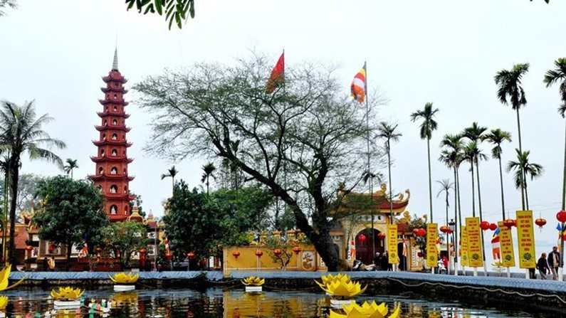 Chùa Trấn Quốc - ngôi chùa cổ linh thiêng tại Hà Nội