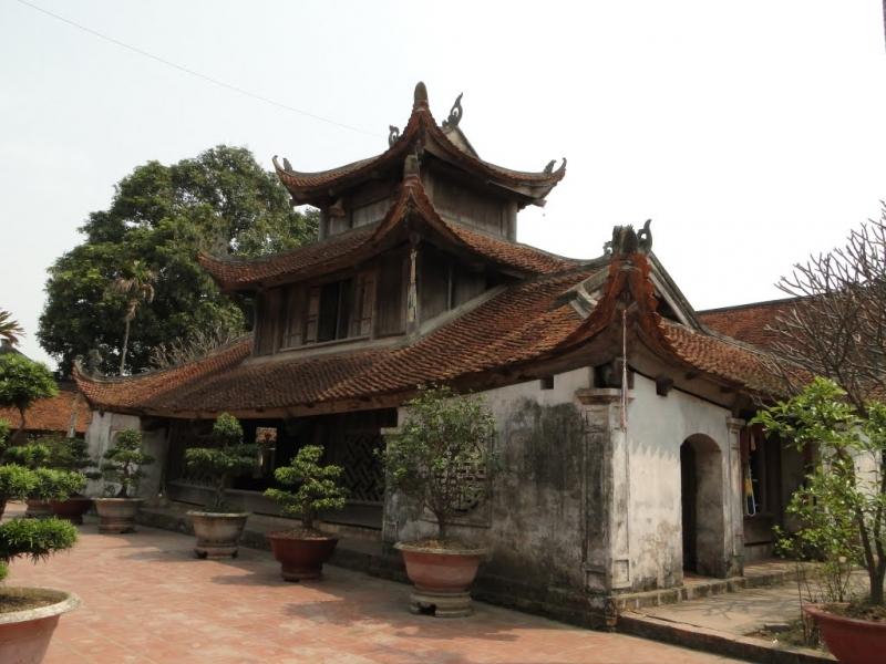 Chùa Dâu tọa lạc tại Bắc Ninh
