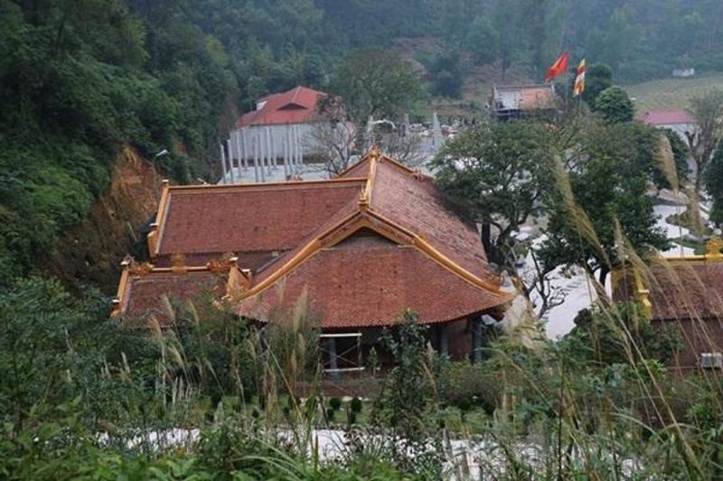 Toàn cảnh Chùa Địa Tạng Phi Lai