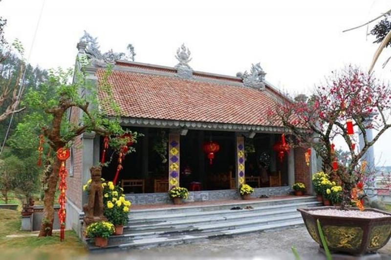 Chính điện chùa Địa Tạng Phi lai