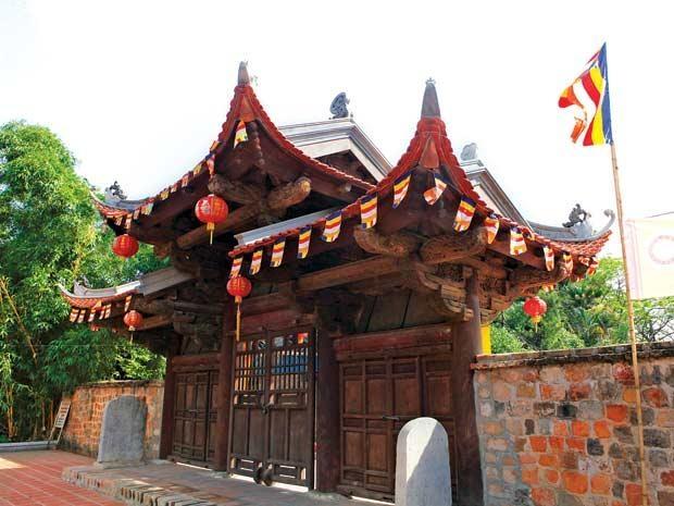 Cổng chùa Kim Liên