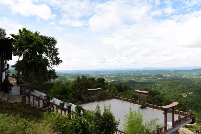 Ngôi chùa tọa lạc ở huyện Bảo Lâm, Lâm Đồng