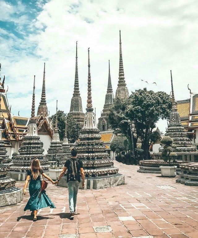 Chùa Phật nằm (chùa Wat Pho)
