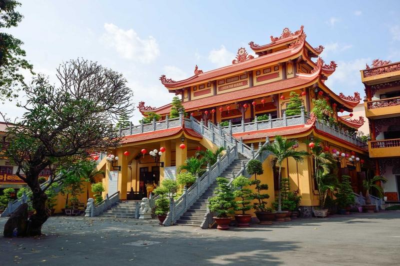 Chùa Phổ Quang là chốn bồng lai tiên cảnh, chim hót ríu rít giữa trốn đô thị