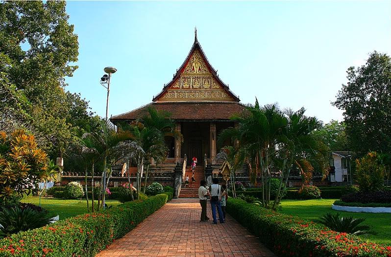Chùa Phra Keo là một công trình kiến trúc độc đáo của Lào