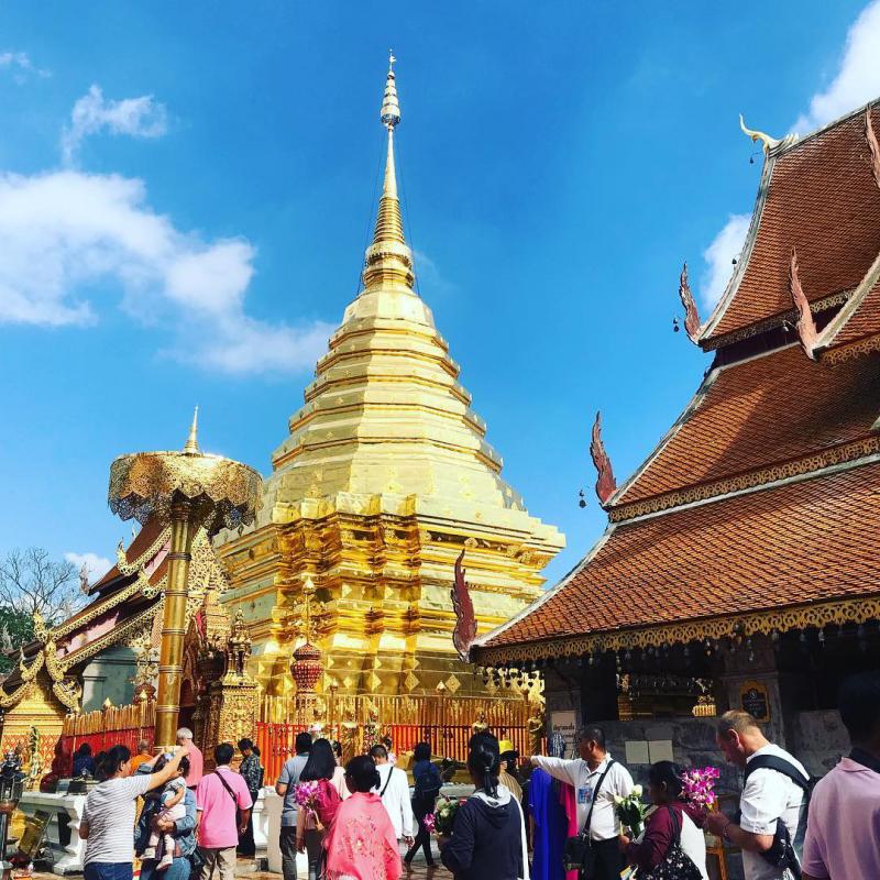 Chùa Phrathat Doi Suthe