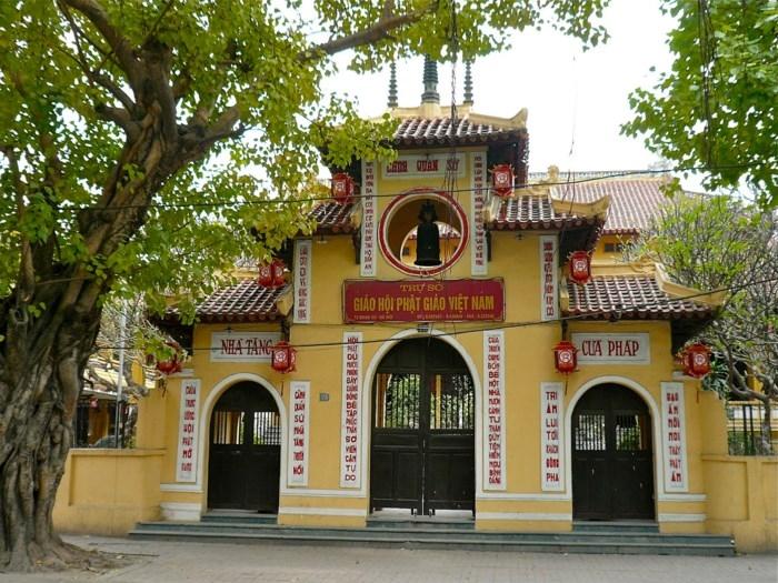 Chùa Quán Sứ - Trụ sở Trung ương hội Phật giáo Việt Nam