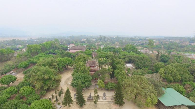 Toàn cảnh chùa Quỳnh Lâm