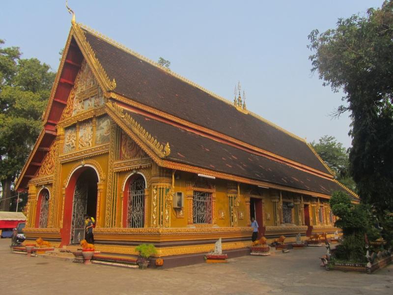 Chùa Si Muang - ngôi chùa linh thiêng và là linh hồn của thủ đô Viêng Chăn