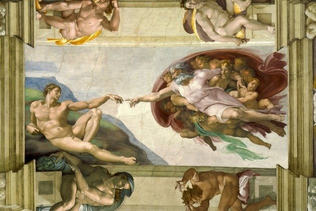 Chúa tạo ra Adam
