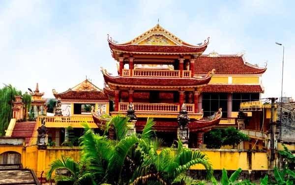 Chùa Thánh Ân (Chùa Cả) - Văn phòng Ban Trị sự Phật giáo tỉnh Nam Định