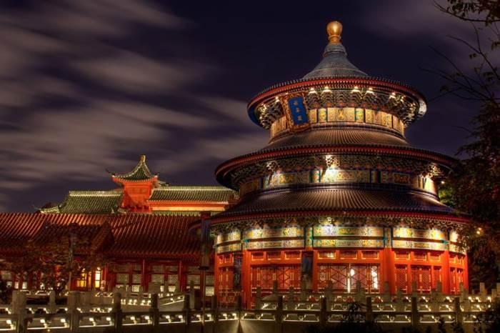 Chùa Thiên Đường ở Trung Quốc.