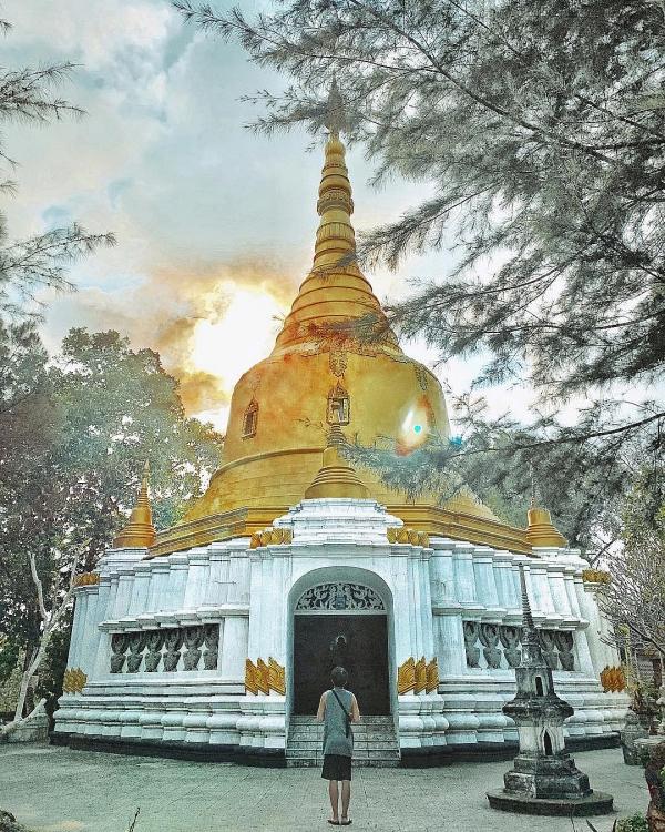 """Chùa Thiền Lâm - Chùa """"Phật Đứng - Phật Nằm"""""""