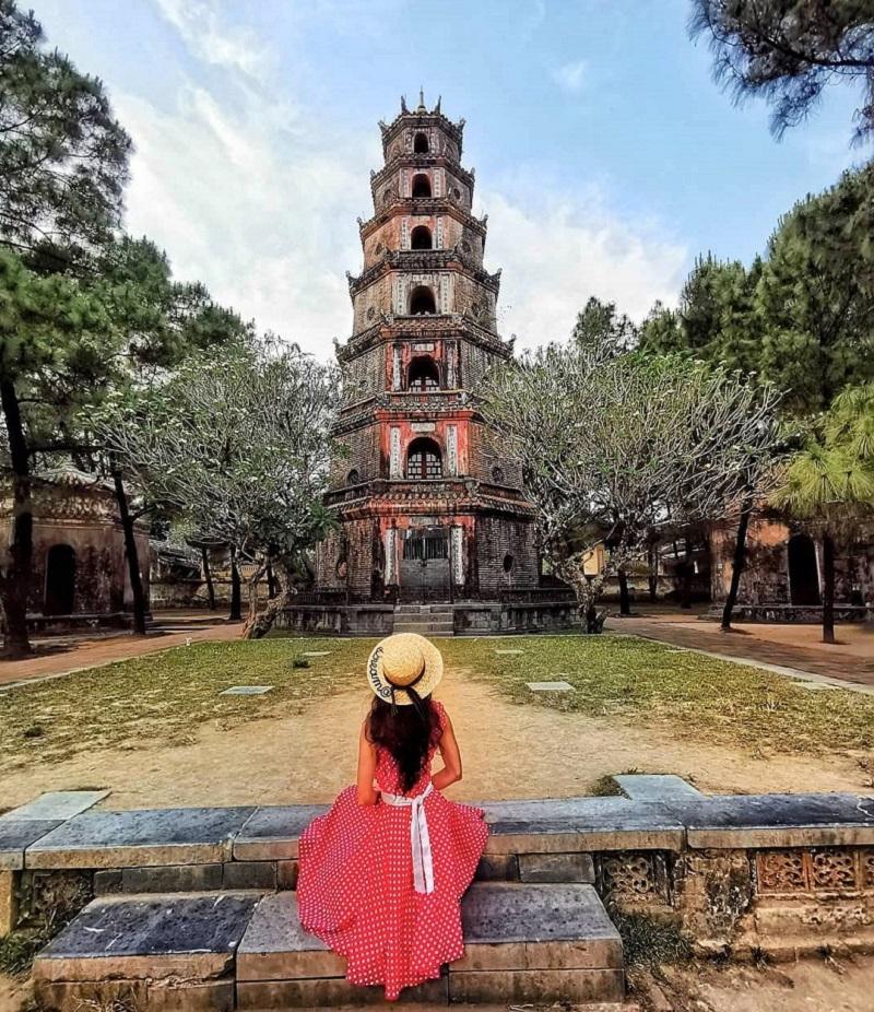 Chùa Thiên Mụ được xếp là một trong 20 điểm đẹp nhất ở Huế