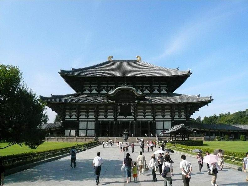 Chùa Todaiji - kiến trúc độc đáo của Nhật Bản