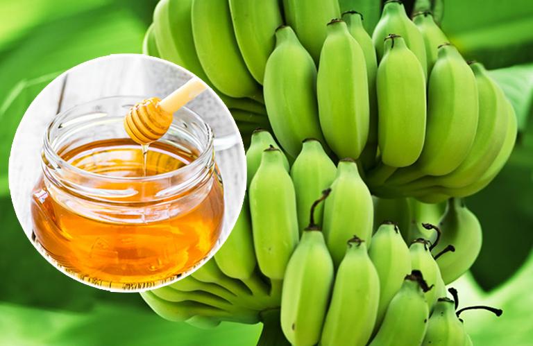 Phương pháp chữa trào ngược dạ dày bằng chuối xanh và mật ong