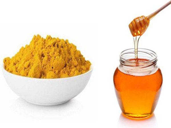 Nghệ và mật ong là bài thuốc tuyệt vời điều trị các bệnh về tiêu hóa, đại tràng rất tốt vì nó có tính kháng khuẩn, tiêu viêm.