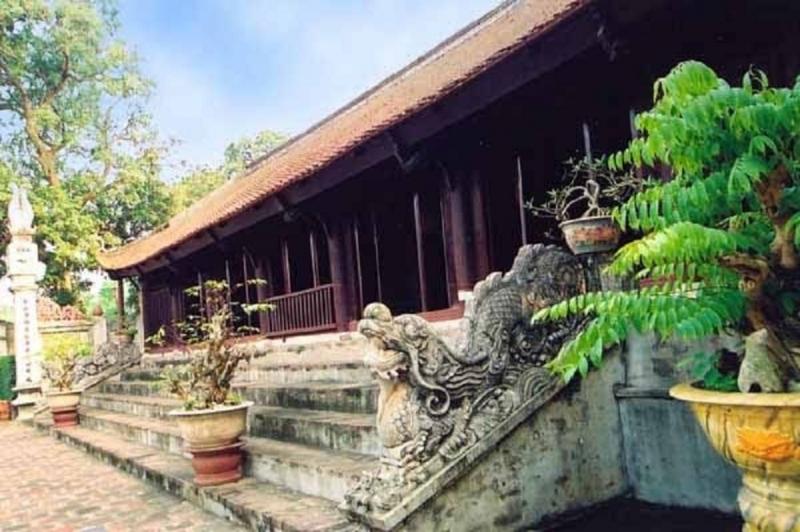 Chính điện chùa Tự Khoát