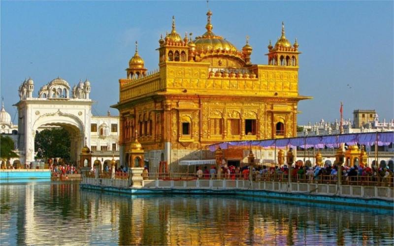 Chùa Vàng, Punjab ở Ấn Độ.