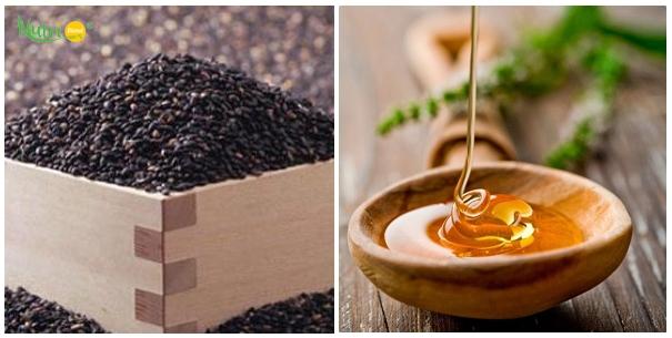 Chữa bệnh viêm đại tràng bằng mè đen với mật ong rất hiệu quả