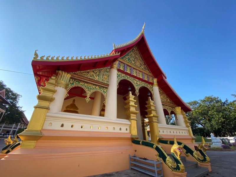 Kiến trúc độc đáo của chùa Wat Ong Theu