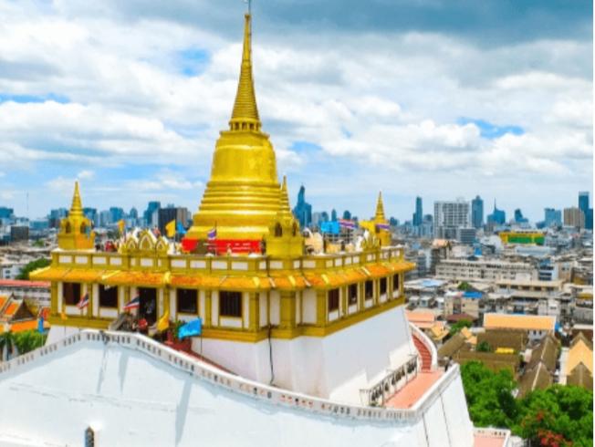 Chùa Wat Saket hay chùa Núi Vàng