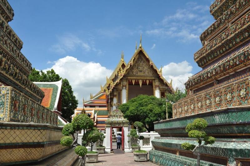Ngôi chùa được xây dựng trong thời gian rất dài mới có thể hoàn thành.