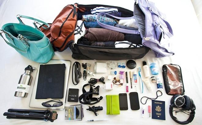 Chuẩn bị hành lý là một khâu quan trọng khi du lịch