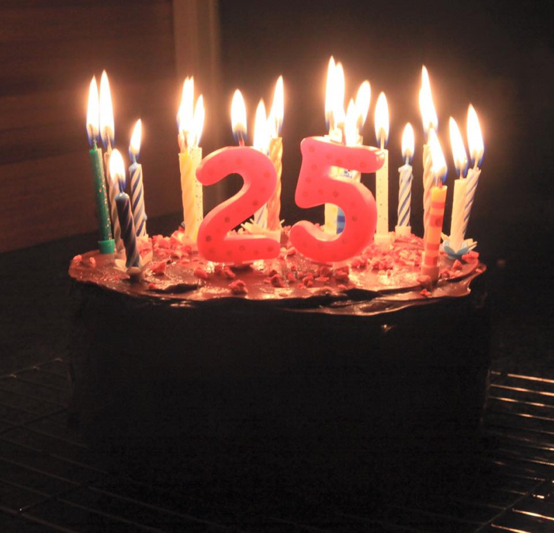 Sinh nhật tuổi 25