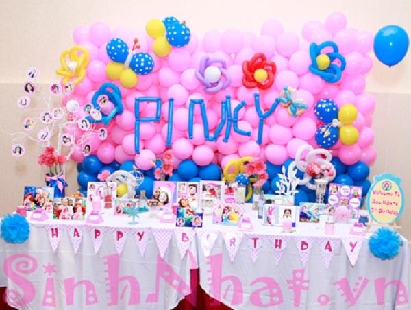 Tiệc sinh nhật đáng yêu