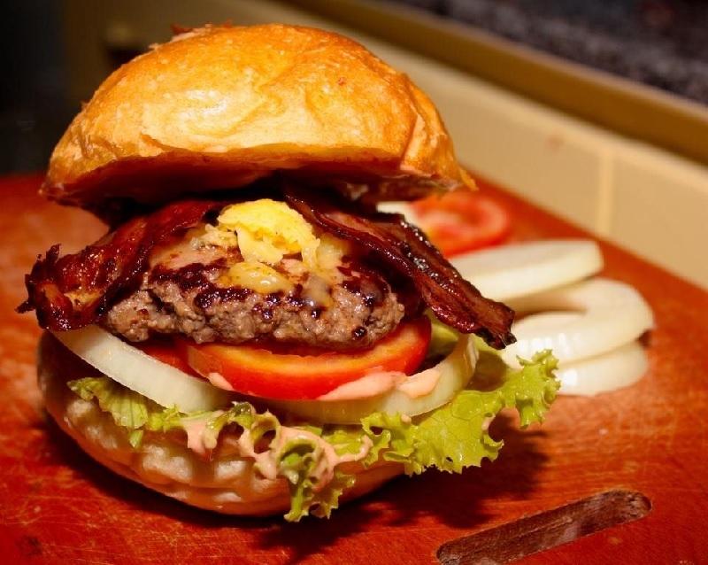 Roast Beef Hamburger