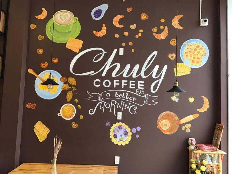 Không gian của Chuly Coffee