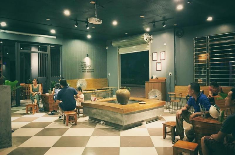 View của Chum Coffee cực thích hợp với những ai yêu thích phong cách vintage