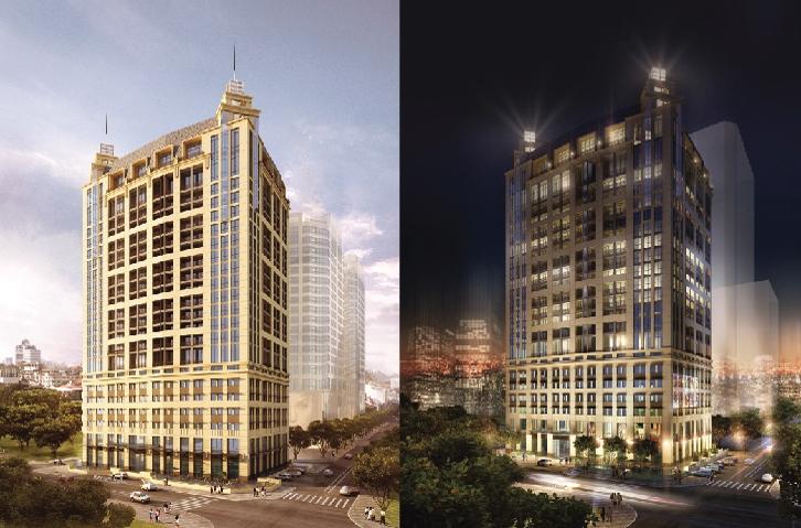 Tòa nhà chung cư Hoàng Thành Tower