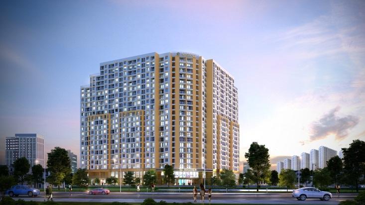 Giá bán của một căn hộ ở đây chỉ từ 21 - 23 triệu/m2