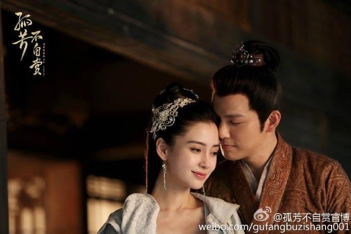 Chung Hán Lương và Angela Baby trong phim truyền hình